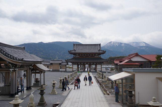 恐山菩提寺の境内